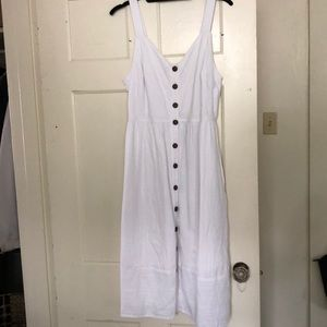 White Dress with Pockets ;)
